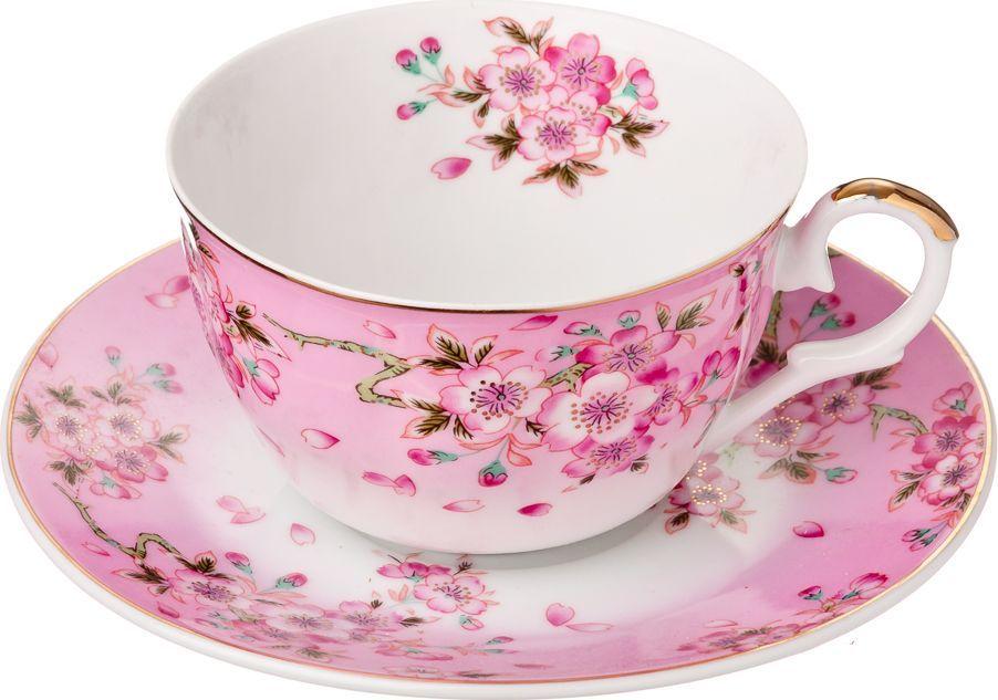Чайный набор Millimi Сакура, 12 предметов821654Чайный набор Millimi Сакура состоит из 6 чашек и 6 блюдец, изготовленных из высококачественного костяного фарфора.Такой набор прекрасно дополнит сервировку стола к чаепитию, а также станет замечательным подарком для ваших друзей и близких.