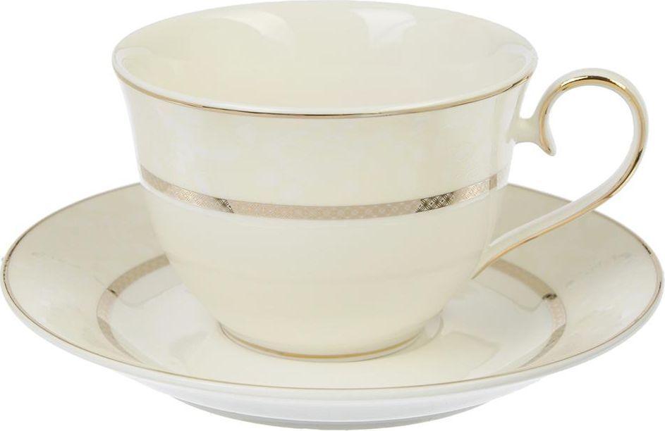 Чайный набор Millimi Версаль, 12 предметов821683Чайный набор Millimi Версаль состоит из 6 чашек и 6 блюдец, изготовленных из высококачественного костяного фарфора.Такой набор прекрасно дополнит сервировку стола к чаепитию, а также станет замечательным подарком для ваших друзей и близких.