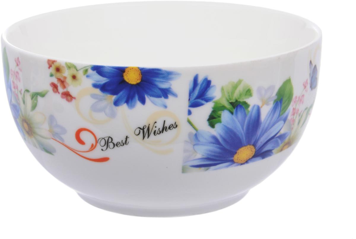Салатник Master Герберы, диаметр 13 см посуда из фарфора оптом