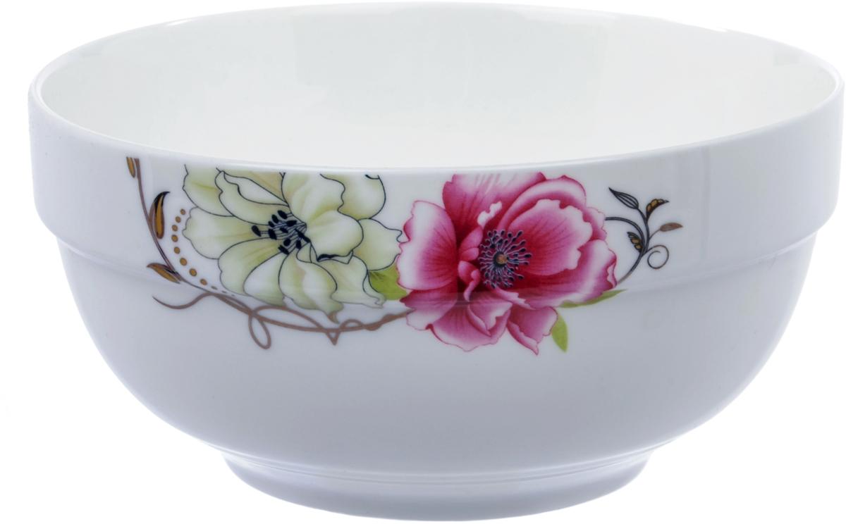 Салатник Ningbo Royal Роза, диаметр 15,5 смRUCH042-3Салатник Ningbo Royal Роза удивит вас приятным сочетанием отменногокачества фарфора и классическими цветочными декорами. Посуда найдетсвое применение как в городской квартире, так и в загородном доме.Классический декор будет одинаково хорошо смотреться в любое время года. Салатник можно использовать в СВЧ и мыть в посудомоечноймашине.