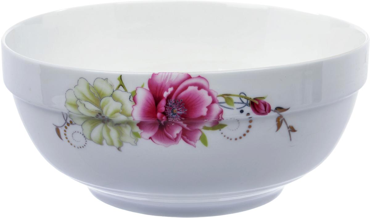 Салатник Ningbo Royal Роза, диаметр 20 см фарфоровая посуда дулево на авито