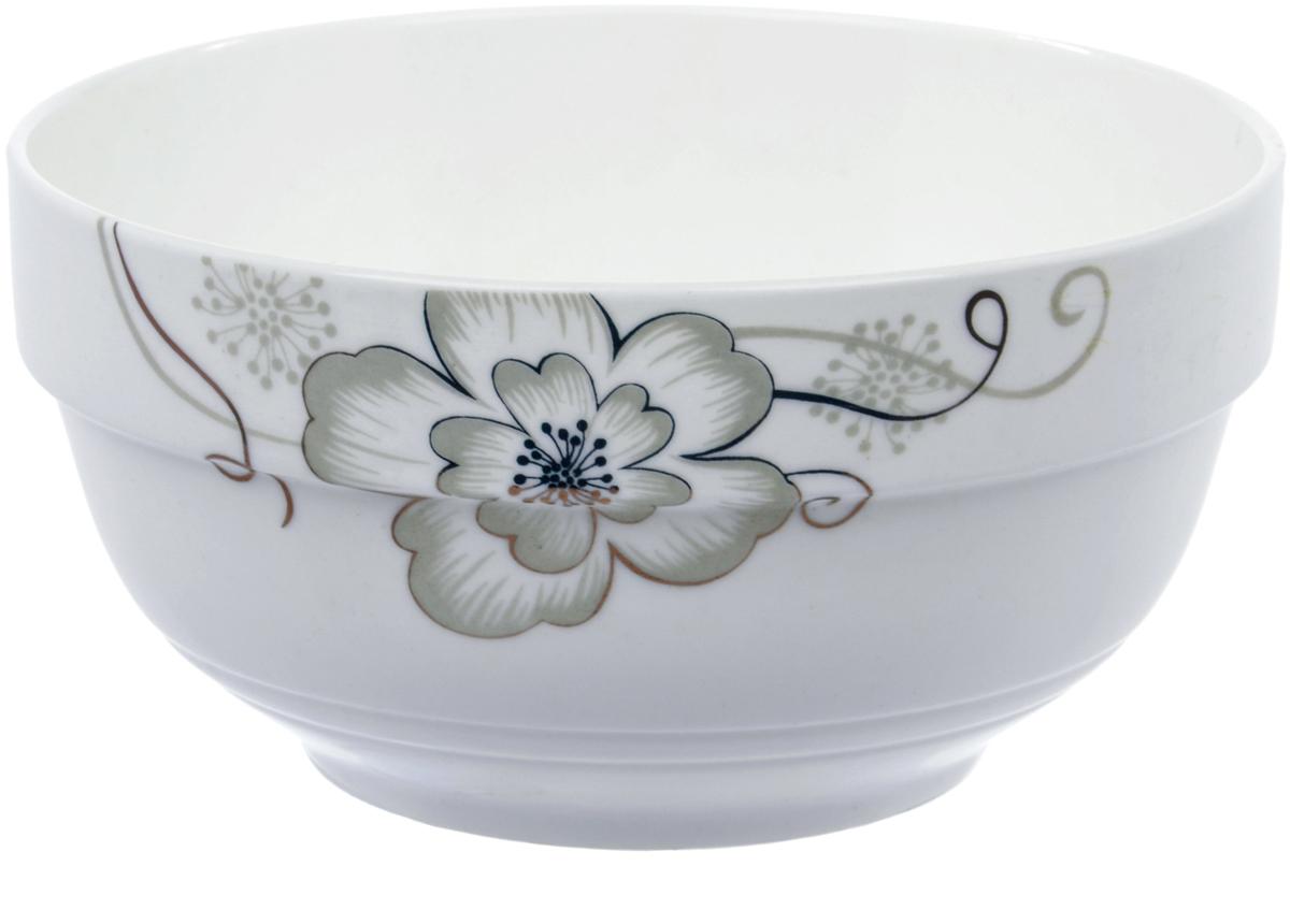 Салатник Ningbo Royal Серый цветок, диаметр 11,5 см фарфоровая посуда дулево на авито