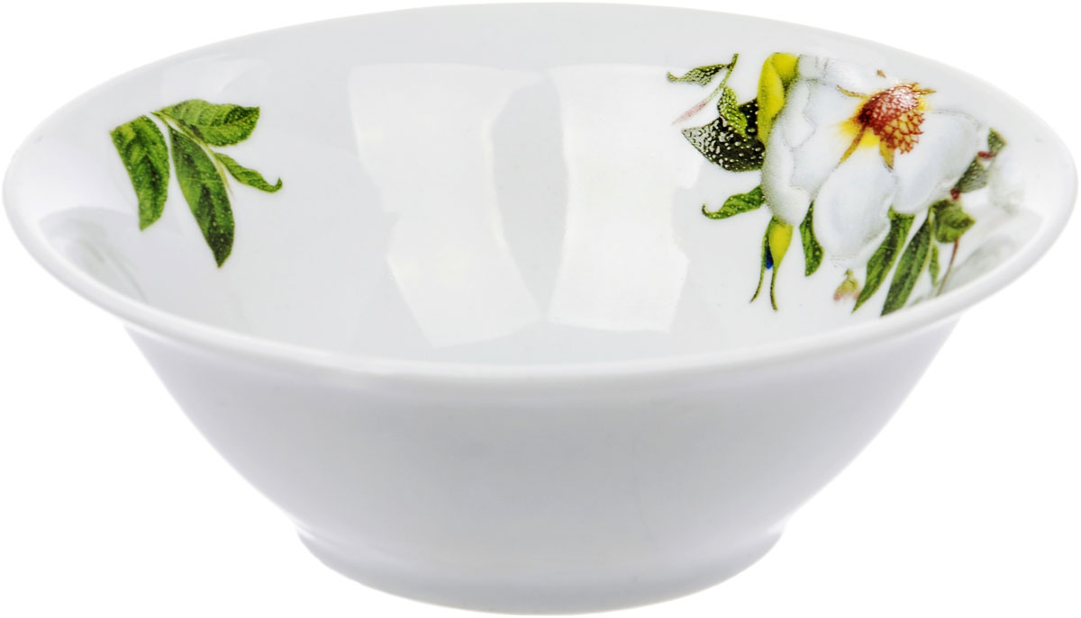 Салатник Dasen Шиповник, диаметр 13 смDNDSR-SH059-4Посуда китайской фабрики Dasen Industrial, известного производителя и экспортера фарфора и фаянса, - посуда, которая всегда в тренде. Отличное качество при невысоких ценах – ее главные конкурентные преимущества.Фаянсовая посуда с цветочными декорами пользуется стабильно высоким спросом. Она присутствует в каждом доме, как составляющая кухни и повседневной сервировки.Посуда Dasen - это китайский фаянс, знакомый еще с советских времен по аналогичной же продукции отечественного производства.