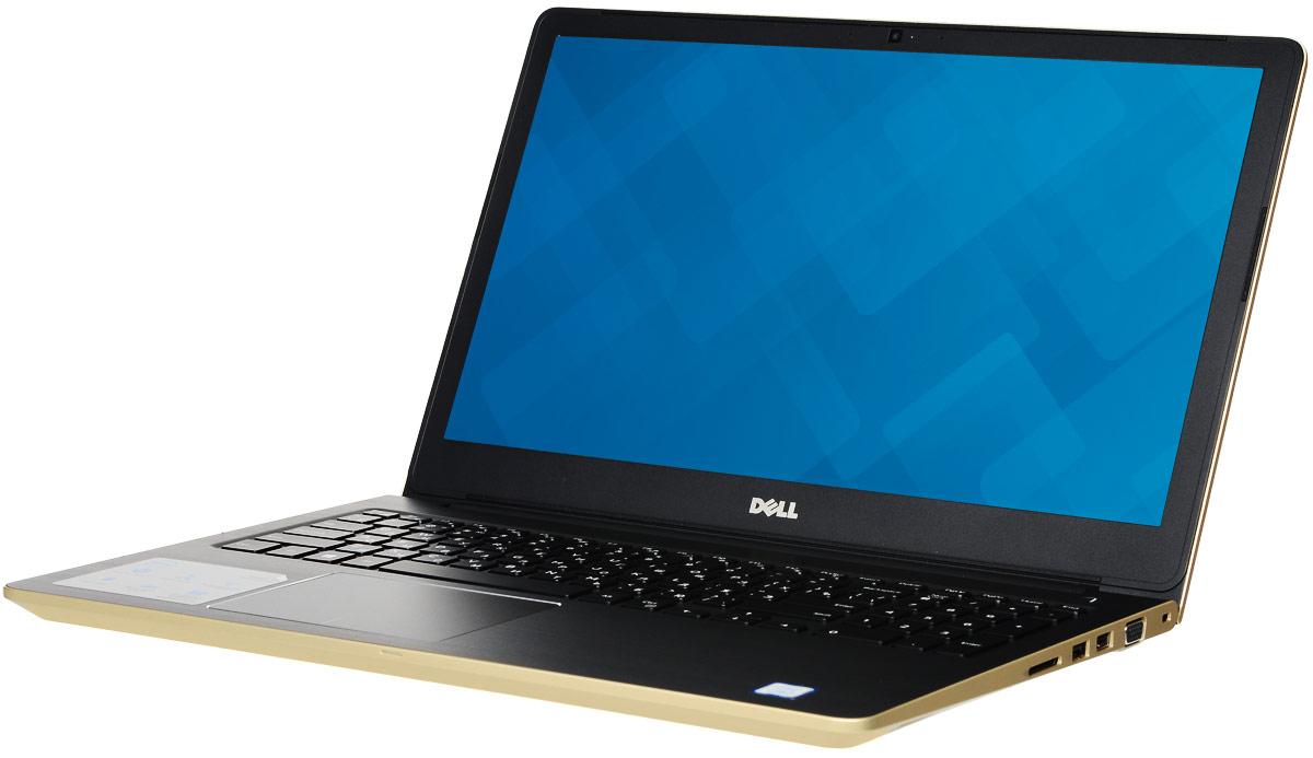 Dell Vostro 5568-4368, Gold5568-436815-дюймовый ноутбук Dell Vostro 5568, рассчитанный на производительность в типичном малом бизнесе,оснащенный клавиатурой с подсветкой, цифровой клавиатурой и функциями безопасности. Устройство имеетулучшенную легкую конструкцию и стильный внешний вид.Простота расширения: конфигурация с двумя накопителями, жестким диском и твердотельным диском, а такжедвумя разъемами для модулей SoDIMM DDR4 означает, что вашу систему можно будет модернизировать помере необходимости.Превосходная графика: переключайтесь между задачами без задержки или используйте графически активныеприложения благодаря выделенному графическому адаптеру NVIDIA GeForce 940MX с объемом видеопамяти 4Гбайта.Превосходное изображение, четкий звук: яркий антибликовый дисплей с разрешением HD выдаетвпечатляющую картинку. Встроенная веб-камера с разрешением HD и программное обеспечение WavesMaxxAudio Pro позволяют при удаленной работе слышать друг друга исключительно четко.Дополнительное удобство: точная сенсорная панель, цифровая клавиатура и дополнительная клавиатура сподсветкой делают работу более удобной.Надежная связь. Благодаря широкому набору портов, включая USB 3.0 и 2.0, HDMI, VGA и Gigabit Ethernet, а такжесчитывателю карт памяти SD подключение никогда не будет проблемой.Защитите свой малый бизнес: аппаратный модуль TPM 2.0 обеспечивает аппаратную защиту коммерческогокласса, а также хранит ключи шифрования, позволяющие идентифицировать ваше устройство.Точные характеристики зависят от модификации.Ноутбук сертифицирован EAC и имеет русифицированную клавиатуру и Руководство пользователя.