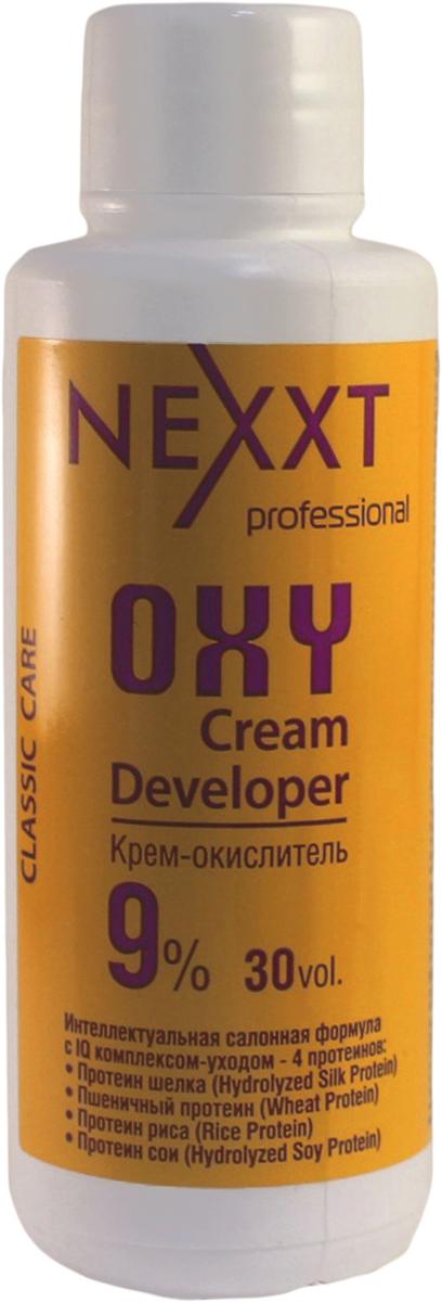 Nexxt Professional Крем-окислитель 9%, 100 млCL211110С протеином шелка, пшеничным протеином, протеином риса и протеином сои. Интеллектуальная салонная формула с IQ комплексом - уходом 4 протеинов. Профессиональный интеллект NEXXT крем-окислителя, помимо самостоятельного контроля оптимального уровня PH на всех этапах окрашивания, заключается в эксклюзивной soft-адаптации эффекта ионной силы раствора, которая обеспечивает быстрое щадящее проникновение красящих пигментов, образующих длинную прочную цепочку, гарантирующую стойкость цвета. Nexxt крем-окислитель используется для обесцвечивания и крашивания волос. В процессе окрашивания крем-окислитель выполняет следующие основные функции: выравнивание и контроль РН; осветления природного меланина; окисление пигментов. ВНИМАНИЕ: только для профессионального применения в парикмахерских и салонах. Защищать от воздействия света. Хранить в прохладном месте. Содержит перекись водорода. Избегать попадания в глаза, в противном случае обильно промыть их водой. Использовать защитные перчатки. Беречь от детей. Перед использованием обязательно проведите тест на восприимчивость препарата, отсутсвие аллергии и повышеннной чувствительности к средству.
