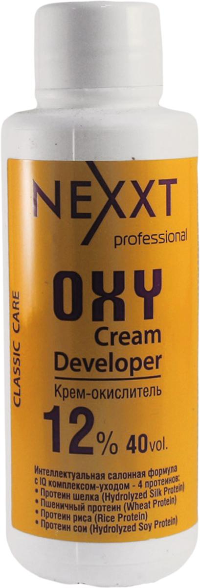 Nexxt Professional Крем-окислитель 12%, 100 млCL211111С протеином шелка, пшеничным протеином, протеином риса и протеином сои. Интеллектуальная салонная формула с IQ комплексом - уходом 4 протеинов. Профессиональный интеллект NEXXT крем-окислителя, помимо самостоятельного контроля оптимального уровня PH на всех этапах окрашивания, заключается в эксклюзивной soft-адаптации эффекта ионной силы раствора, которая обеспечивает быстрое щадящее проникновение красящих пигментов, образующих длинную прочную цепочку, гарантирующую стойкость цвета. Nexxt крем-окислитель используется для обесцвечивания и крашивания волос. В процессе окрашивания крем-окислитель выполняет следующие основные функции: выравнивание и контроль РН; осветления природного меланина; окисление пигментов. ВНИМАНИЕ: только для профессионального применения в парикмахерских и салонах. Защищать от воздействия света. Хранить в прохладном месте. Содержит перекись водорода. Избегать попадания в глаза, в противном случае обильно промыть их водой. Использовать защитные перчатки. Беречь от детей. Перед использованием обязательно проведите тест на восприимчивость препарата, отсутсвие аллергии и повышеннной чувствительности к средству.