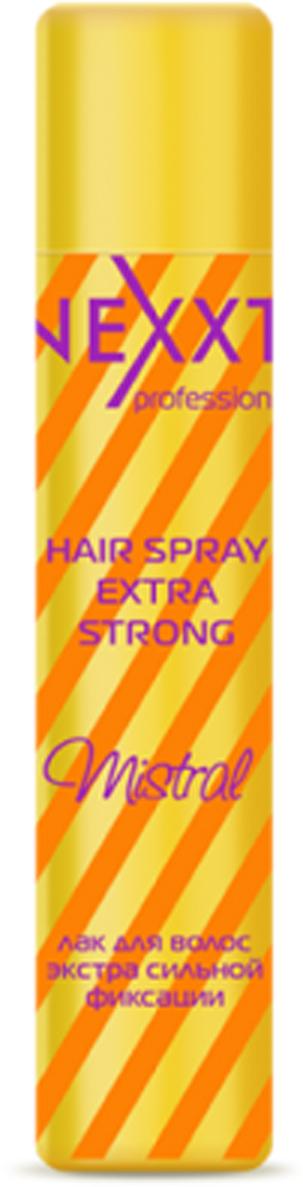 Nexxt Professional Лак для волос экстра сильной фиксации, 400 мл12261212Идеально обеспечивает необходимую фиксацию и натуральный блеск волос, не утяжеляя и не склеивая волосы. Пантенол укрепляет волосы, придавая им мягкость и эластичность. Идеально обеспечивает подвижную длительную фиксацию и натуральный блеск волос, не утяжеляя и не склеивая волосы. Лак не перегружает волосы и не образует налета. Также подходит для создания сложных форм при помощи локонов и волн. Быстро сохнет и легко удаляется при расчесывании.