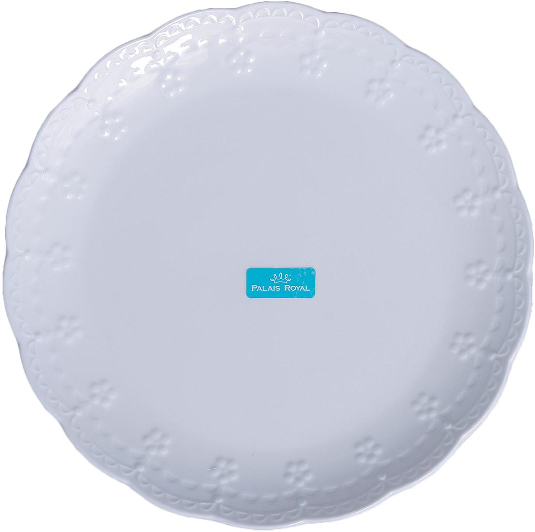 Тарелка Lamart Dolci, цвет: белый, диаметр 20 см1000080ТарелкаDolci, белая — отличный подарок, подчёркивающий яркую индивидуальность того, кому он предназначается. Некоторые вещи мы вряд ли когда-то купим себе сами. Но, будучи подаренными друзьями или родными, они доставляют нам массу удовольствия. С одной такой вещи может начаться целая коллекция. Только у нас вы можете купить оптом данный товар по столь привлекательной цене.
