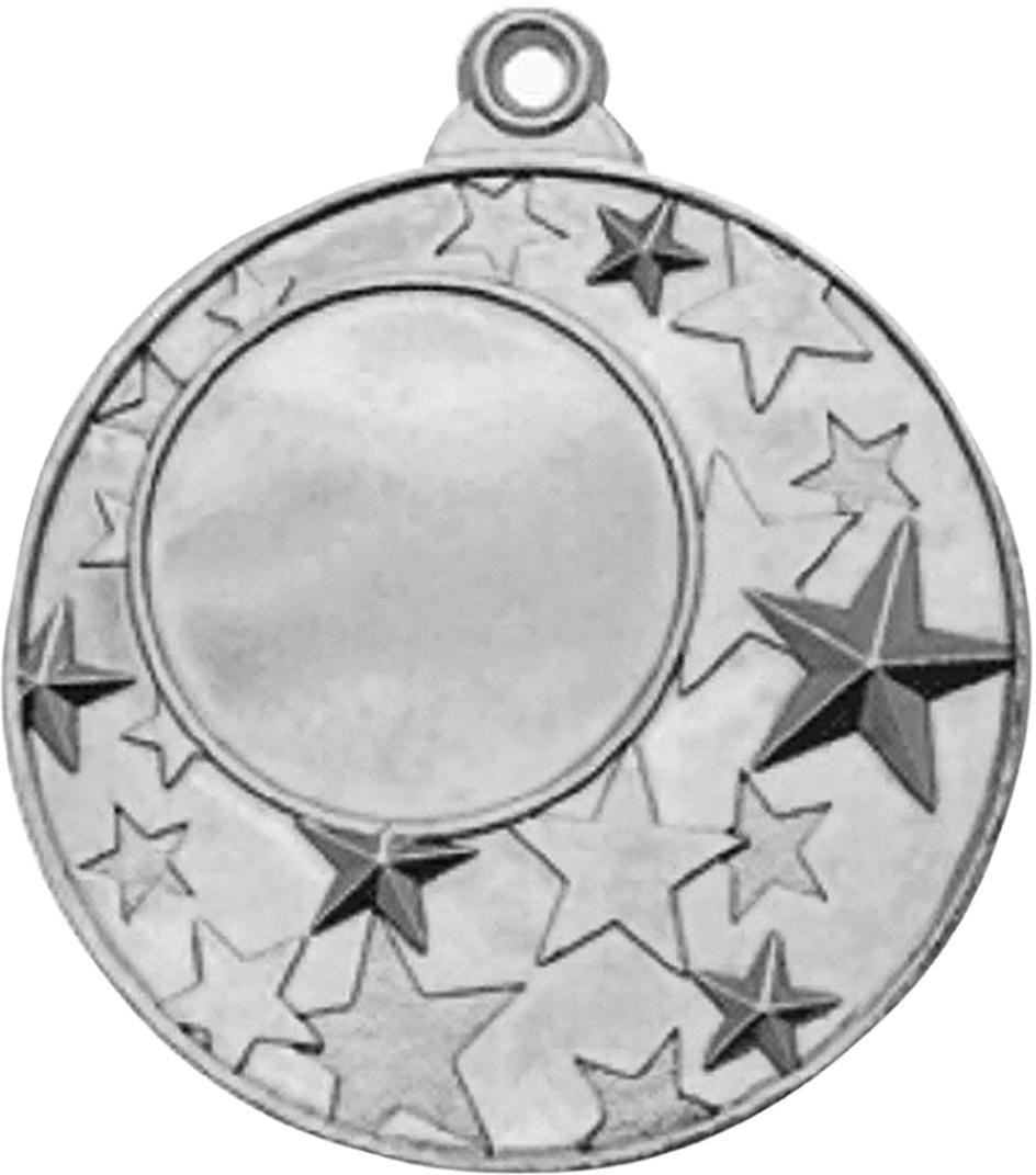Медаль сувенирная с местом для гравировки, цвет: серебристый, диаметр 5 см. M2231786687Медаль — это заслуженная награда для победителей спортивных соревнований. Её также можно вручить личностям на торжественных и корпоративных мероприятиях, подарить именинникам и юбилярам. Особенности:имеет красивый дизайн обладает долговечным покрытием изготавливается из прочного материала. Подарите внимание, приятное воспоминание и хорошее настроение!