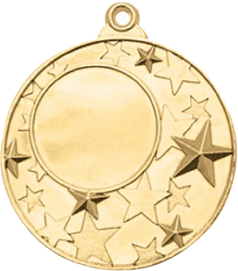 Медаль сувенирная с местом для гравировки, цвет: золотистый, диаметр 5 см. M223507618Медаль — это заслуженная награда для победителей спортивных соревнований. Её также можно вручить личностям на торжественных и корпоративных мероприятиях, подарить именинникам и юбилярам. Особенности:имеет красивый дизайн обладает долговечным покрытием изготавливается из прочного материала. Подарите внимание, приятное воспоминание и хорошее настроение!