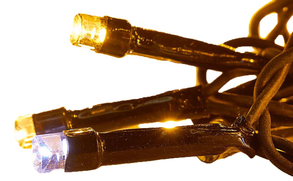 Гирлянда светодиодная Luazon Клип лайт, цвет: белый, уличная, 1000 ламп, 24 V, 5 х 20 м. 15860611586061Светодиодные гирлянды и ленты — это отличный вариант для новогоднего оформления интерьера или фасада. С их помощью помещение любого размера можно превратить в праздничный зал, а внешние элементы зданий, украшенные ими, мгновенно станут напоминать очертания сказочного дворца. Такие украшения создают ауру предвкушения чуда. Деревья, фасады, витрины, окна и арки будто специально созданы, чтобы вы украсили их светящимися нитями.