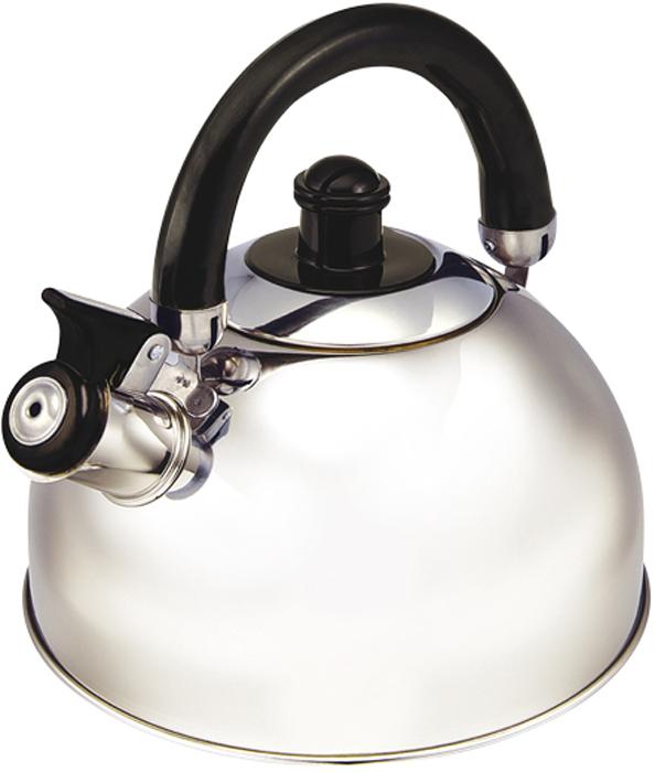Чайник Gelberk, со свистком, цвет: серебристый, черный, 3 л. GLK-804GLK-804Чайник со свистком Gelberk изготовлен из высококачественной нержавеющей стали, капсулированное дно. Высококачественная сталь представляет собой материал, из которого в течение нескольких десятилетий во всем мире производятся столовые приборы, кухонные инструменты и различные аксессуары. Этот материал обладает высокой стойкостью к коррозии и кислотам. Подвижная ручка из жаропрочного пластика. Ручка не нагревается. Объем: 3000 мл.