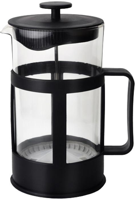 """Френч-пресс """"Gelberk"""", выполненный из стекла, пластика и нержавеющей стали,  практичный и простой в использовании. Засыпая чайную заварку под фильтр и заливая ее  горячей водой, вы получаете ароматный чай с оптимальной крепостью и насыщенностью.  Остановить процесс заварки чая легко. Для этого нужно просто опустить поршень, и заварка  уйдет вниз, оставляя вверху напиток, готовый к употреблению.  Современный дизайн полностью соответствует последним модным тенденциям в  создании предметов бытовой техники."""