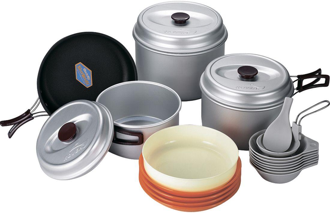 Набор походной посуды Kovea, цвет: белый, оранжевый, черный, 24 предмета кронштейн для тв hama 108717