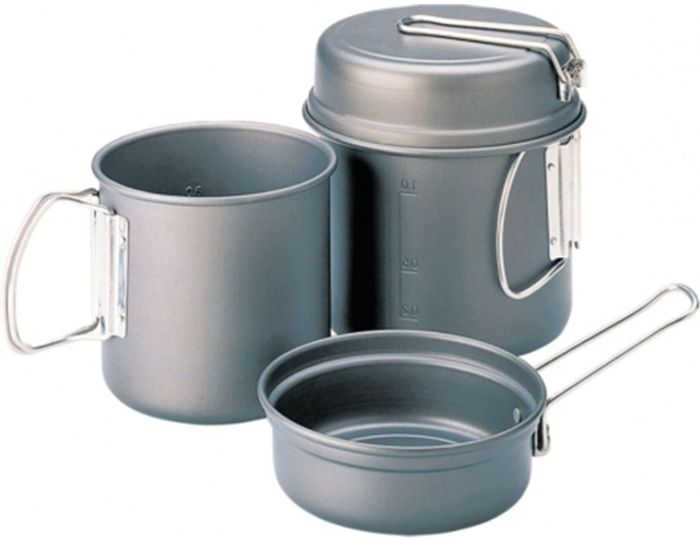 Набор походной посуды Kovea, 4 предмета набор котелков ecos camp s1 походных 1 л 2 л 3 л
