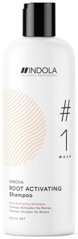 Indola Шампунь для роста волос Innova Root Activating Shampoo, 300 мл самоклеющиеся стикеры innova для крепления фотографий 500 шт