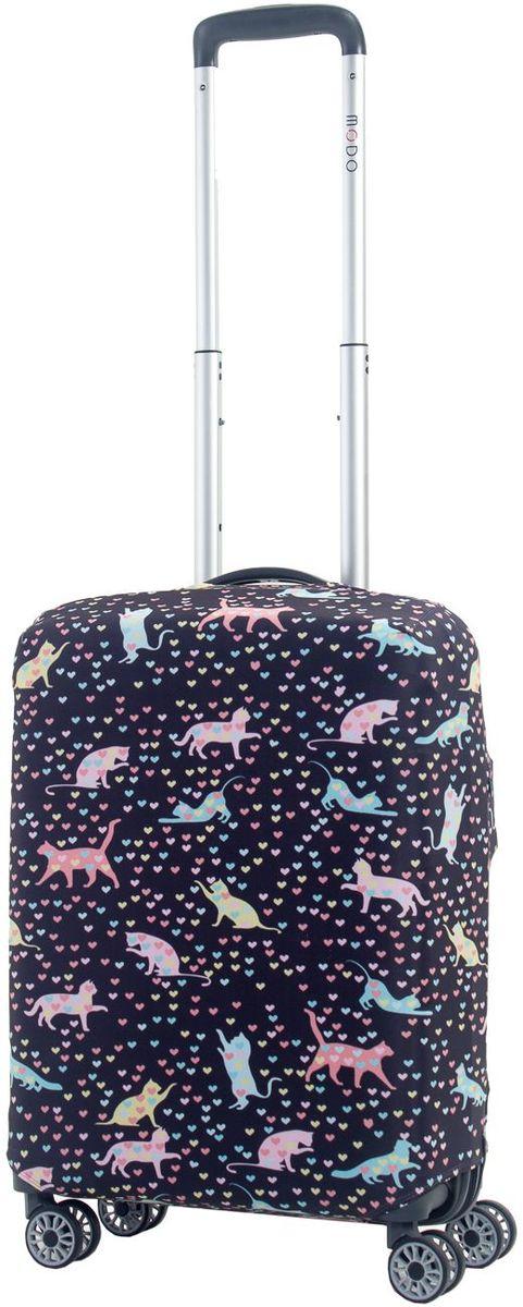 Чехол для чемодана Mettle Kity, размер S (высота чемодана: 50-55 см)LK-21000065Модный универсальный чехол для чемодана от компании METTLE, подходит для чемоданов ручной клади размера S (высота: 50-55СМ, ширина: 35-40СМ, глубина: 20-25СМ).Эластичная ткань со специальной UF-водоотталкивающей пропиткой лучше защитит ваш чемодан от грязи и солнечных лучей. Картинка чехла надолго останется яркой и красочной. Две боковые потайные молнии, усиленные дополнительными швами, предохраняют боковые стороны и ручки чемодана от царапин и легких повреждений. Резинка с удобной соединяющей застёжкой надёжно фиксирует чехол на чемодане. Нижняя молния имеет автоматический замок бегунка. В швы багажного чехла дополнительно вшит эластичный жгут для лучшей усадки и фиксации на чемодан. Вся фурнитура изготовлена в фирменном дизайне METTLE. Дополнительно мы упаковали чехол для чемодана METTLE в функциональный мешочек из аналогичной ткани, который вы сможете использовать для хранения и переноски предметов небольшого размера.Забудьте об одноразовой багажной плёнке, чехол для чемодана M