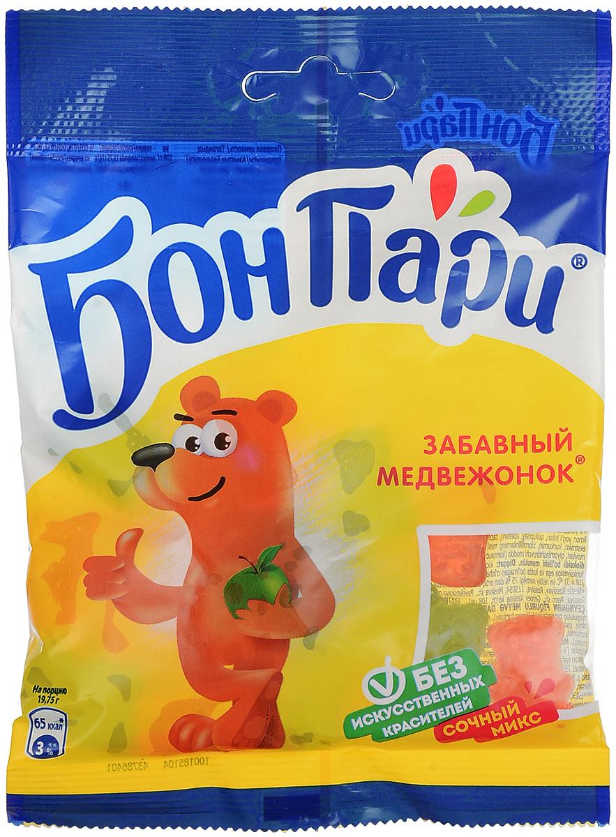 Бон Пари Забавный медвежонок мармелад жевательный фигурный, 75 г подвеска брелок бон бон kimmidoll