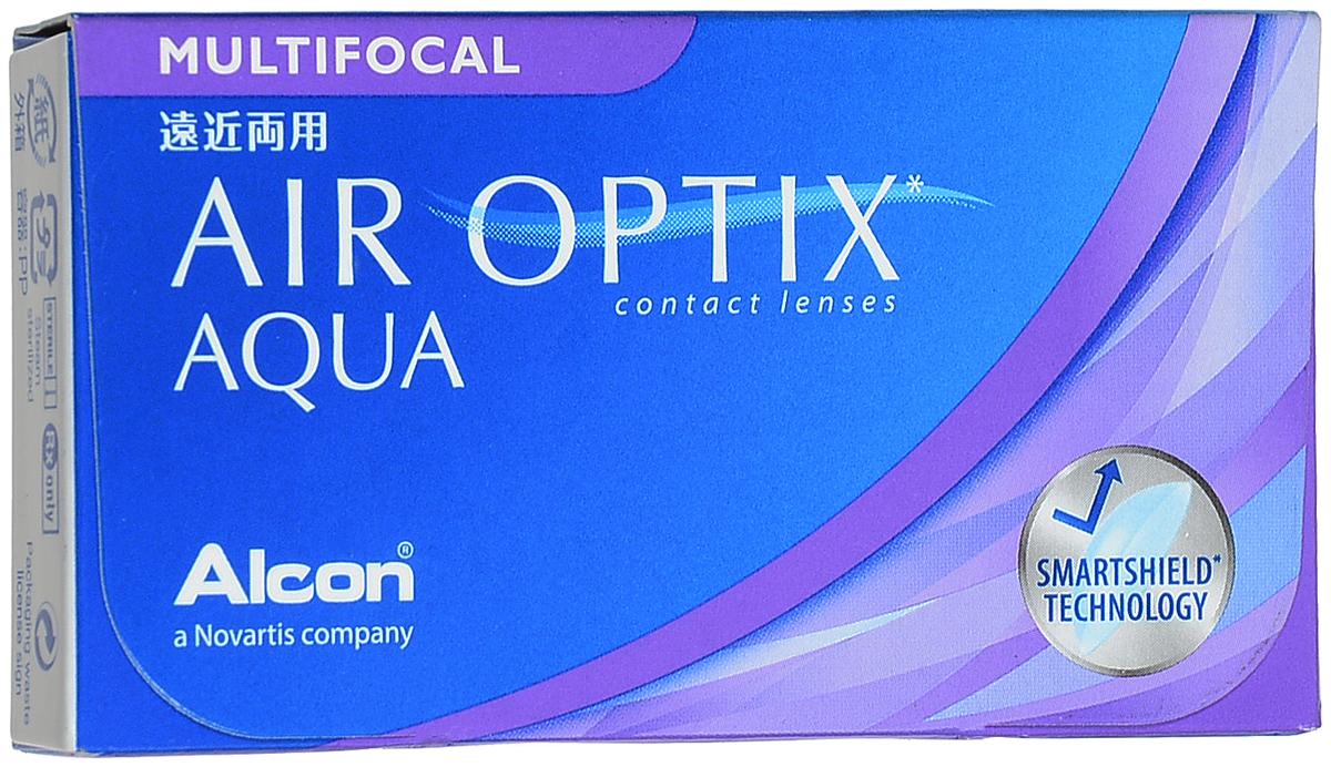 Alcon-CIBA Vision контактные линзы Air Optix Aqua Multifocal (3шт / 8.6 / 14.2 / -6.00 / Med)