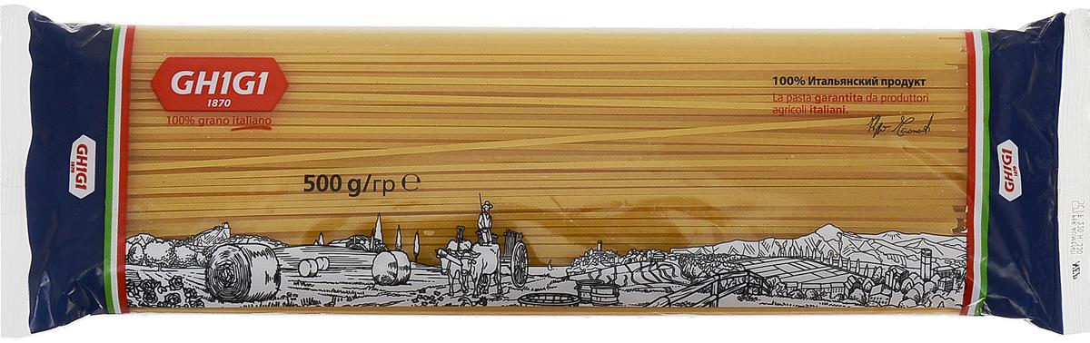 Ghigi cпагетти № 85, 500 г. СМ2215 рис мистраль кубань белый круглозерный в варочных пакетах 8 62 5г