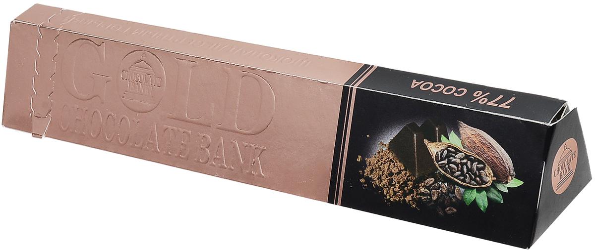 Шоколадный Банк шоколад десертный горький, 100 гИТ_Ф8003037Шоколадный Банк - десертный горький шоколад с вафельной крошкой. Это отличный подарок для близкого человека! Он обрадует получателя нежным вкусом и креативным оформлением. Вручите его как комплимент или дополните шоколадом основной подарок.