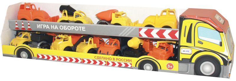 Пластмастер Игровой набор Стройка плакаты и макеты по правилам дорожного движения где купить в спб
