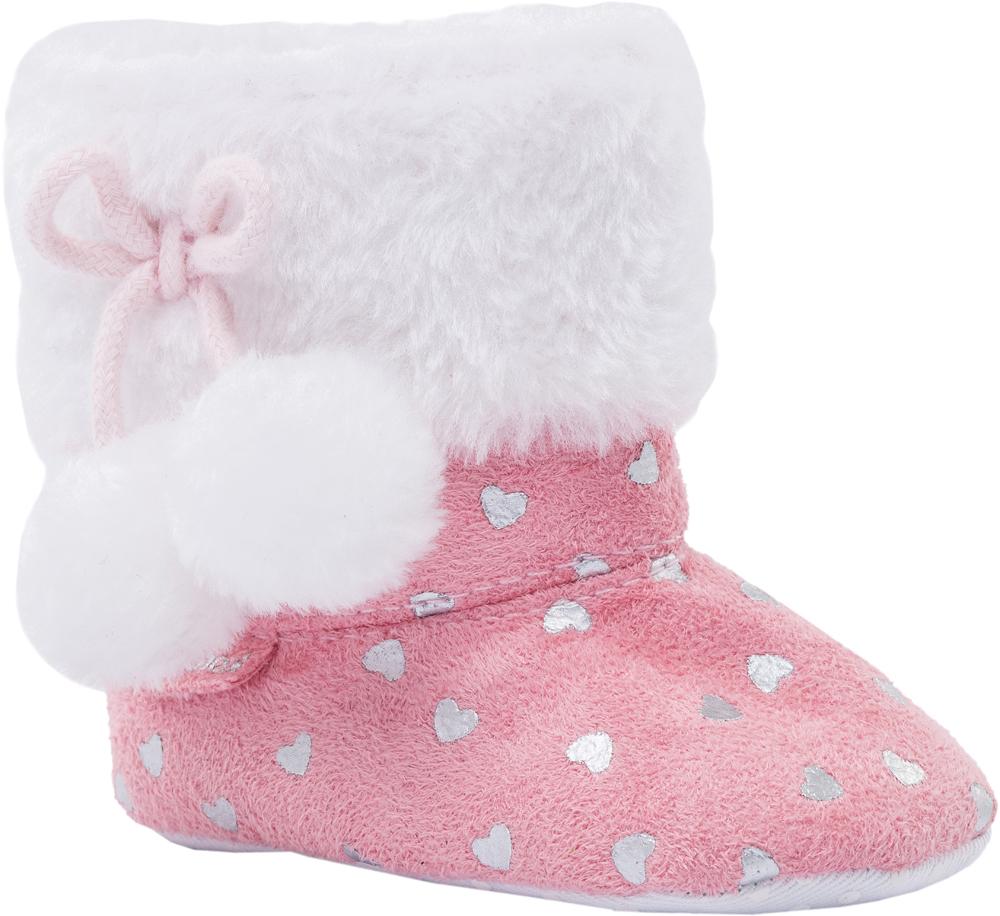 Пинетки для девочки Котофей, цвет: розовый. 001068-11. Размер 18001068-11Легкая, мягкая и удобная обувь для младенцев выполнена полностью из высококачественных материалов. Пинетки хорошо держаться на ножке ребенка с помощью резинок. Защитят и согреют ножки вашего ребенка во время прогулок в коляске.