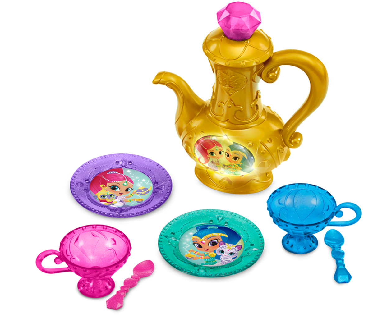 Shimmer & Shine Игровой набор Волшебное чаепитие shimmer & shine набор фигурок тала и нала