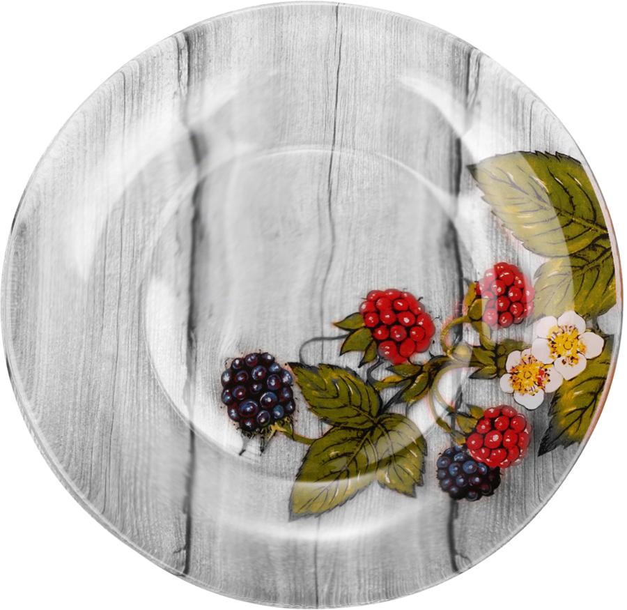 Набор тарелок Sima-land Лесные ягоды, диаметр 20 см, 6 шт свеча ароматизированная sima land лимон на подставке высота 6 см