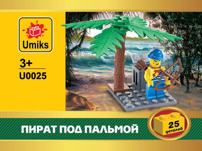 Umiks Конструктор Пират под пальмой U0025