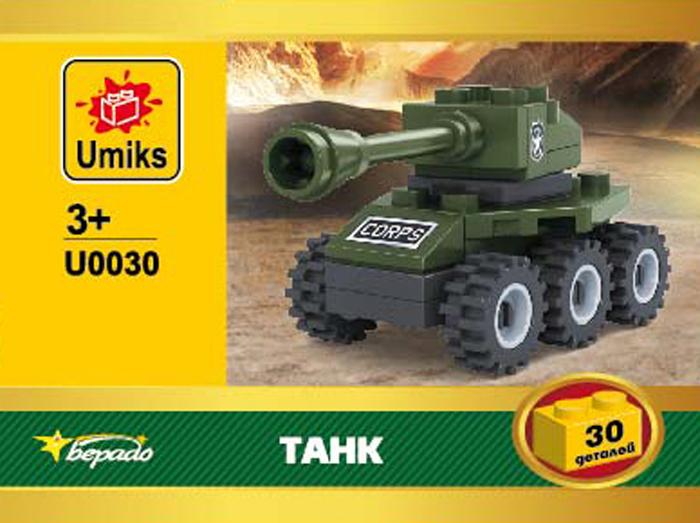 Umiks Конструктор Танк U0030