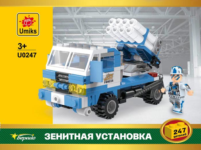 Umiks Конструктор Зенитная установка U0247