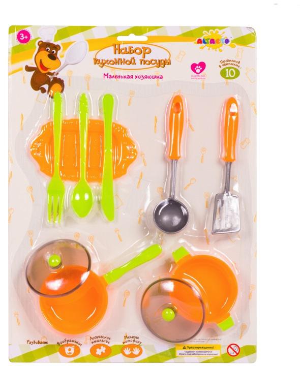 Altacto Игровой набор кухонной посуды Маленькая хозяюшка в ассортименте игровой набор с липучками в ассортименте