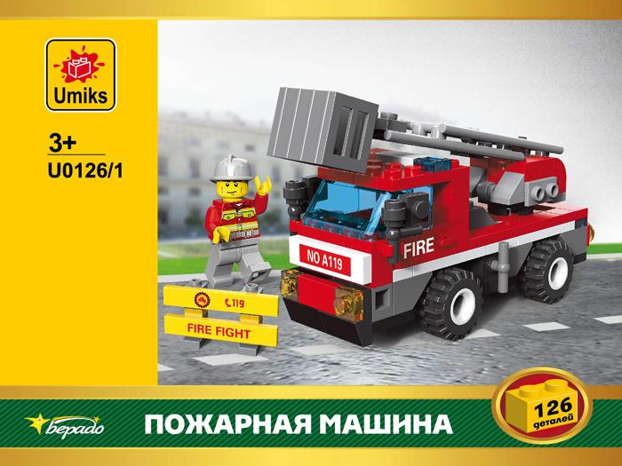 Umiks Конструктор Пожарная машина U0126/1