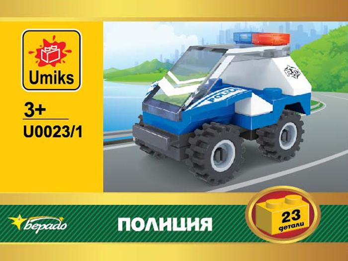 Umiks Конструктор Полиция U0023/1
