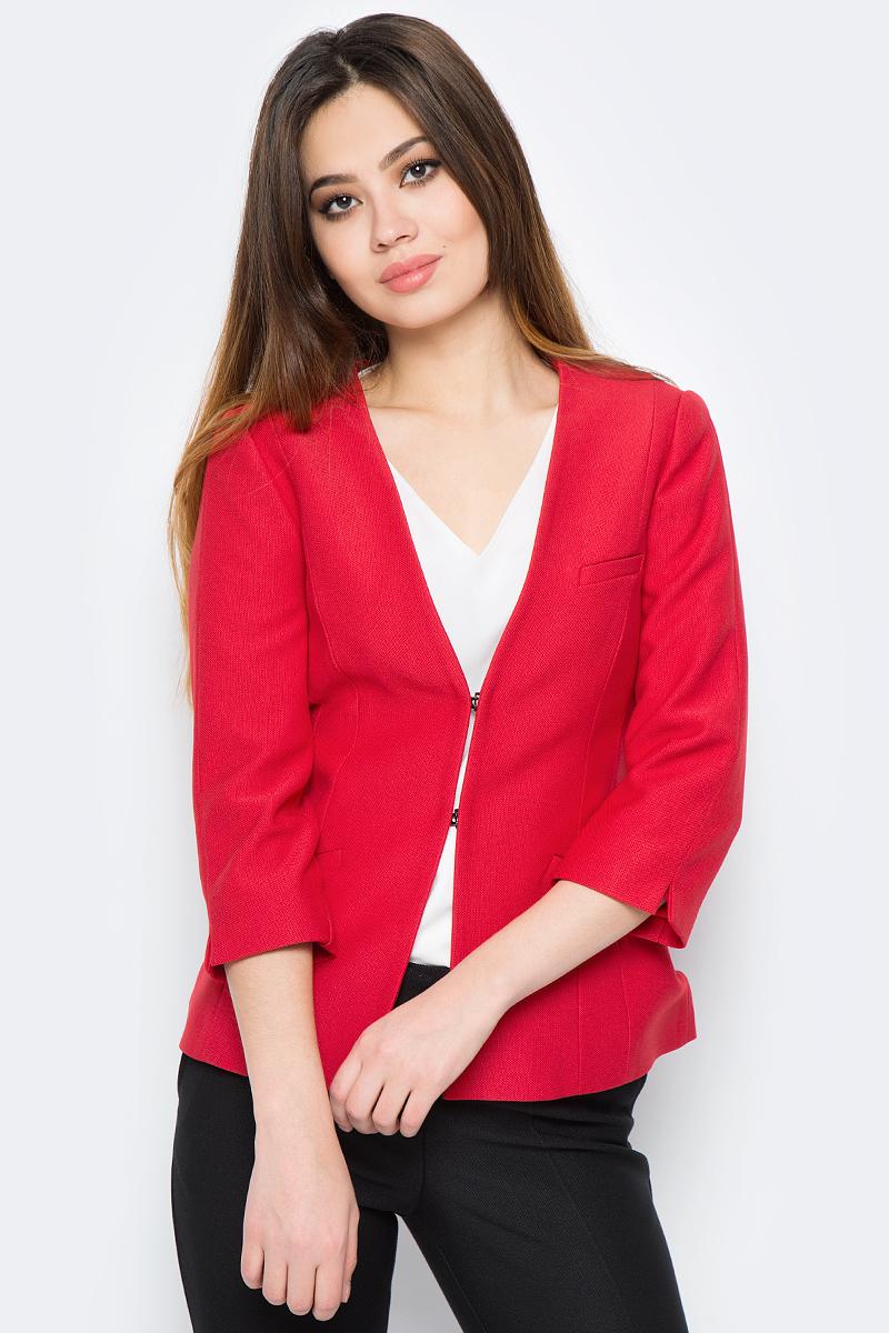 Жакет женский adL, цвет: красный. 11930580002_006. Размер XS (40/42) женский гардероб