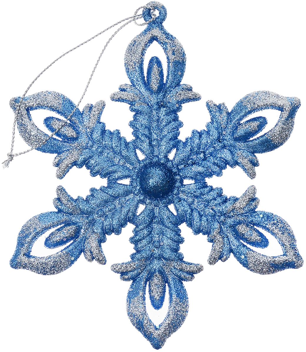 Украшение для интерьера новогоднее Erich Krause Снежинка рождественская, 12 см43666Снежинка очаровывает тонкой рельефной конструкцией и ярким цветом лазури. Сверкающие блестки добавляют изделию очарования. Упаковка - полибэг.