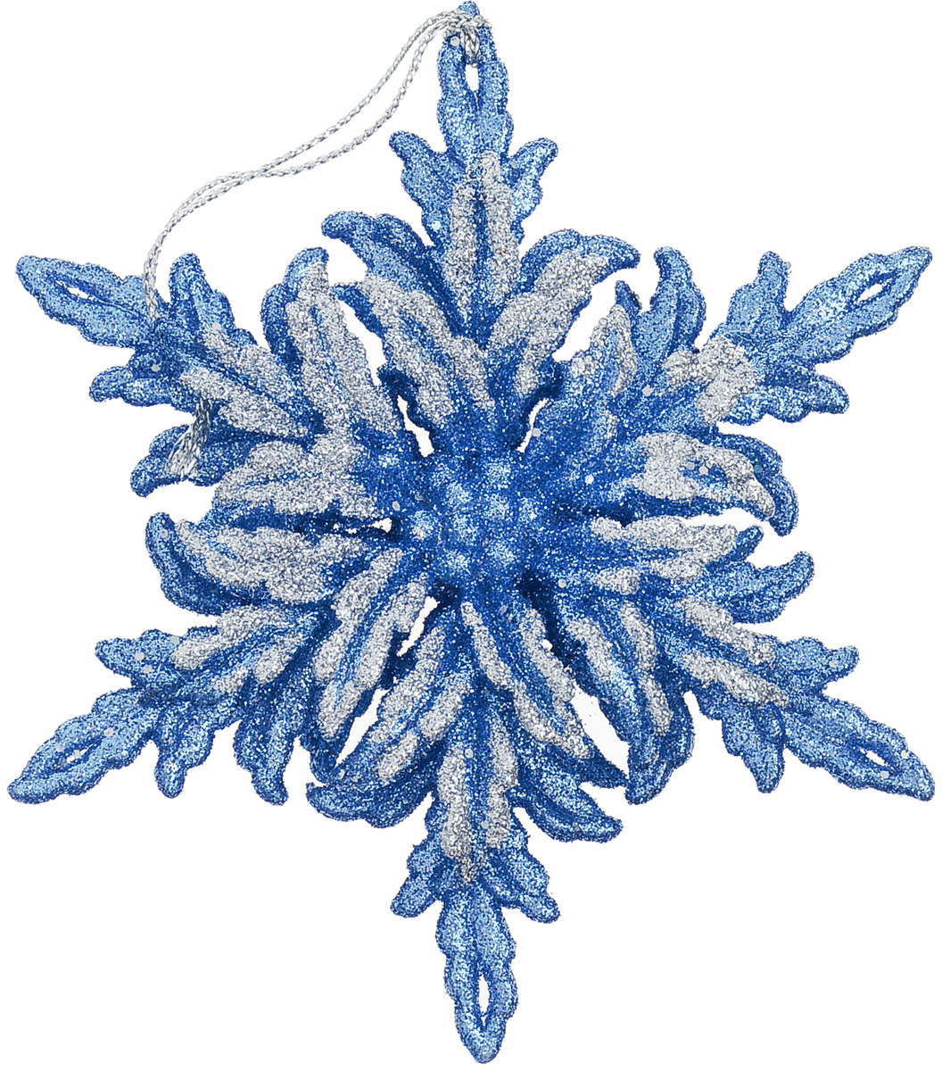 Снежинка лазурного цвета привлекает внимание своей объемной конструкцией. Подходит для украшения елки и помещения. Яркий цвет дополняют серебряные блестки, завораживающие своим сиянием.Новогодние украшения всегда несут в себе волшебство и красоту праздника. Создайте в своем доме атмосферу тепла, веселья и радости, украшая его всей семьей.