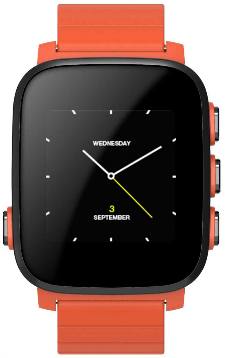 SMA Q2 Lite, Orange умные часыSMA-Q2-Lite-OrangeSMA Q2 Lite - это идейный наследник, снятых с производства Pebble. Часы обладают как смарт-функциями, таки возможностями отслеживания вашего физического состояния. Они на протяжении всего дня автоматическисчитают количество пройденных шагов, сожженных калорий, показания пульса и оценивают качество идлительность сна. Идеальное сочетание умных часов с фитнес-трекером. Интересной особенностью стал цветнойдисплей, выполненный по технологии Memory LCD. Как и в Pebble, он прекрасно читается даже при яркомсолнечном свете и потребляет всего 0,8% энергии в сравнении с другими дисплеями такого же размера. За счетэтого SMA Q2 Lite работают до 40 дней в режиме ожидания и до 15-20 дней в режиме активного использования!