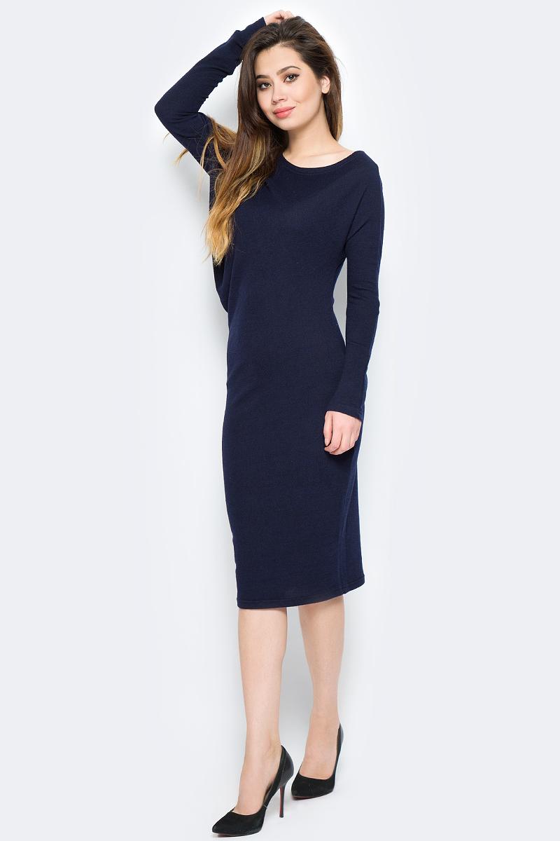 Платье La Via Estelar, цвет: синий. 13129-2. Размер 46