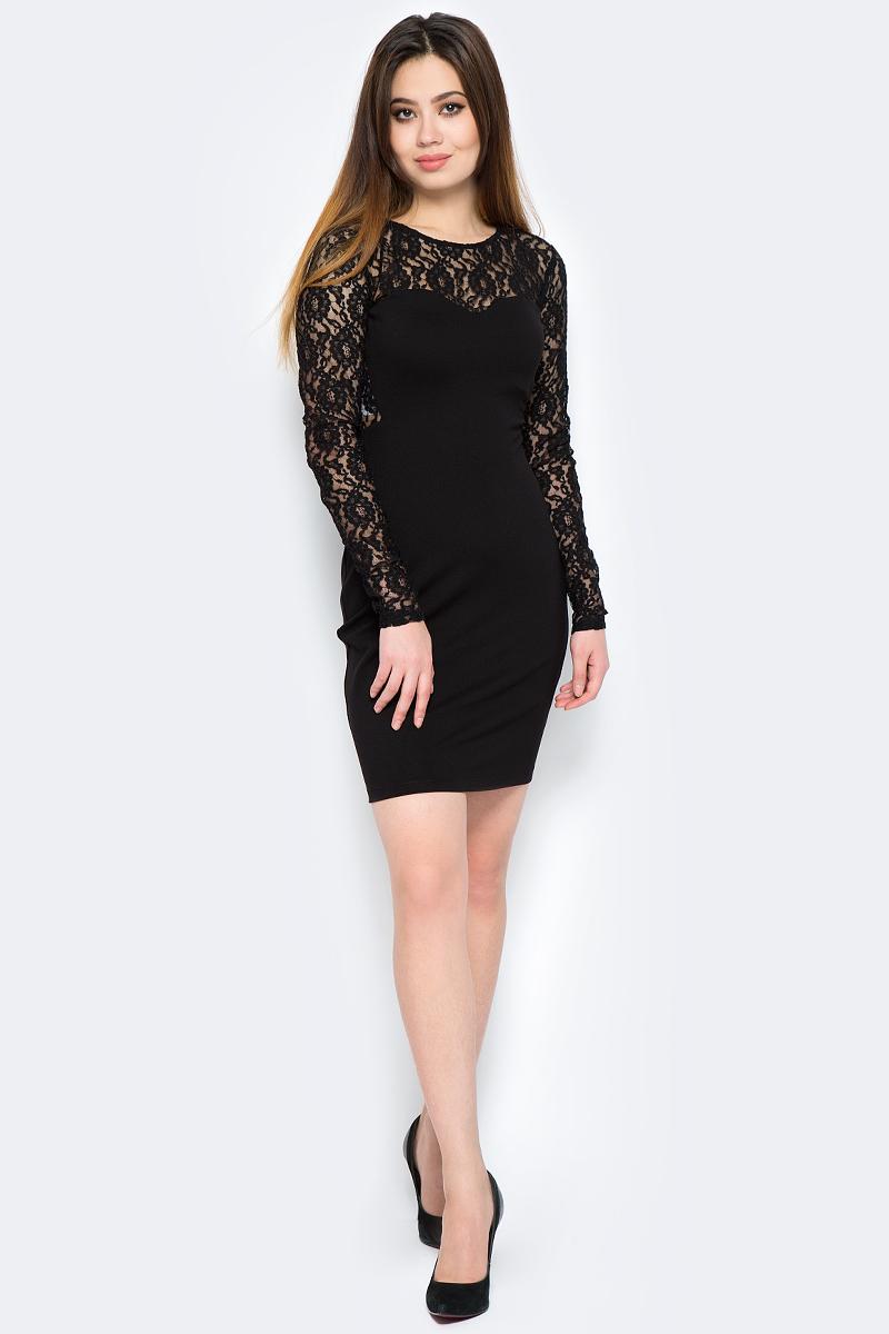 Платье adL, цвет: черный. 12419416004_001. Размер S (42/44) adl ad005ewqdi75