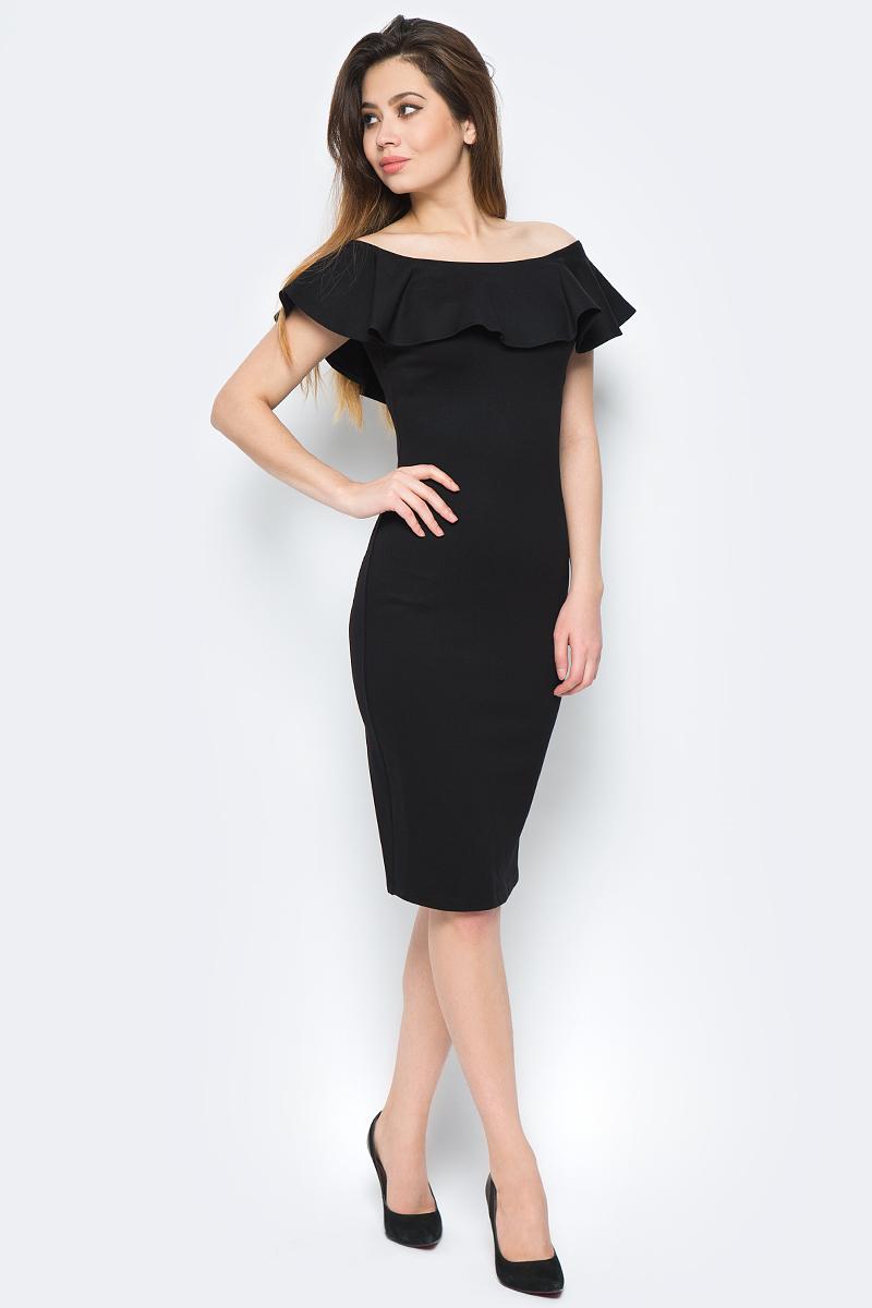 Платье adL, цвет: черный. 12429445008_001. Размер XS (40/42) adl ad005ewqdi75