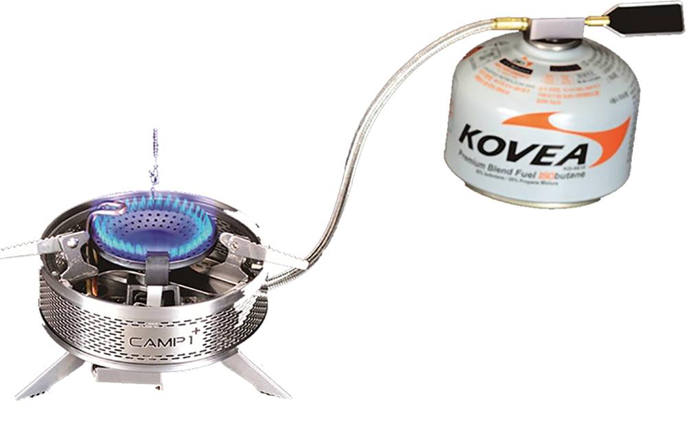 Горелка газовая Kovea, со шлангом. KGB-1608 газовая горелка kovea ткв 9703 1l со шлангом