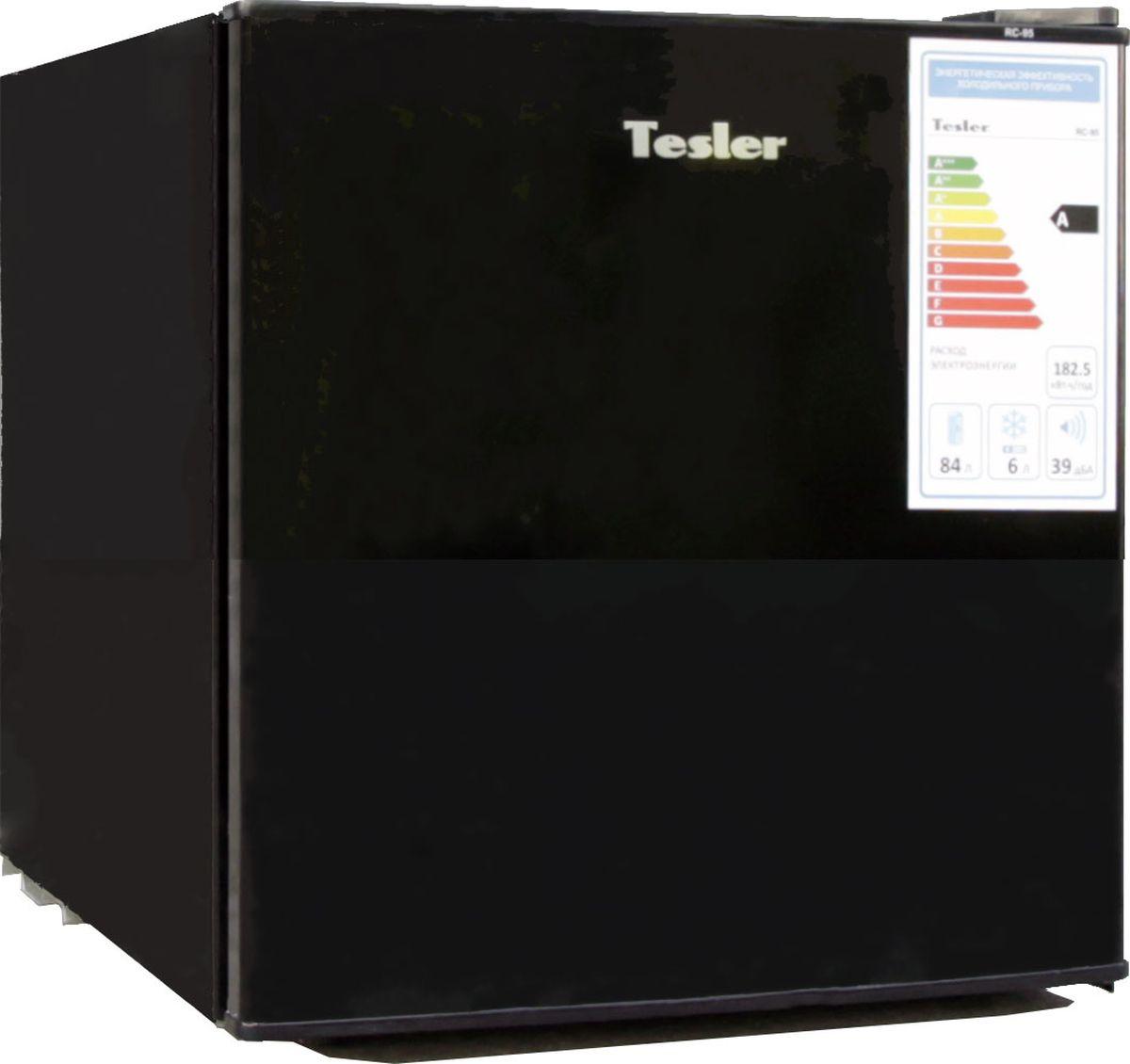 Холодильник Tesler RC-55, Black
