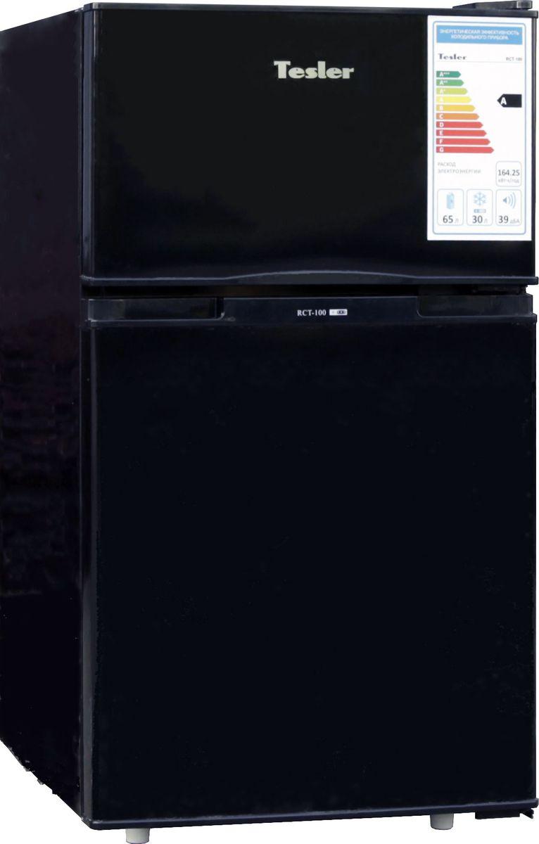 Tesler RCT-100, Black холодильник - Холодильники и морозильные камеры