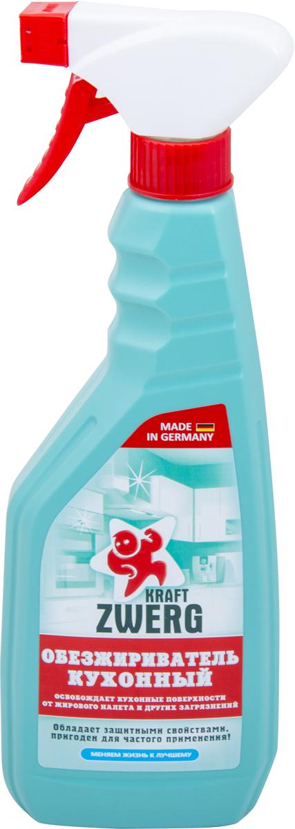 Обезжириватель Kraft Zwerg, кухонный, 500 мл54242Обезжириватель кухонный 500 млЧистящее средство для обезжиривания. Освобождает кухонные поверхности от жирового налета и других загрязнений-сделано на основе растительных экстрактов-подходит для мытья кухонной поверхности-пригоден для частого примененияКак выбрать качественную бытовую химию, безопасную для природы и людей. Статья OZON Гид