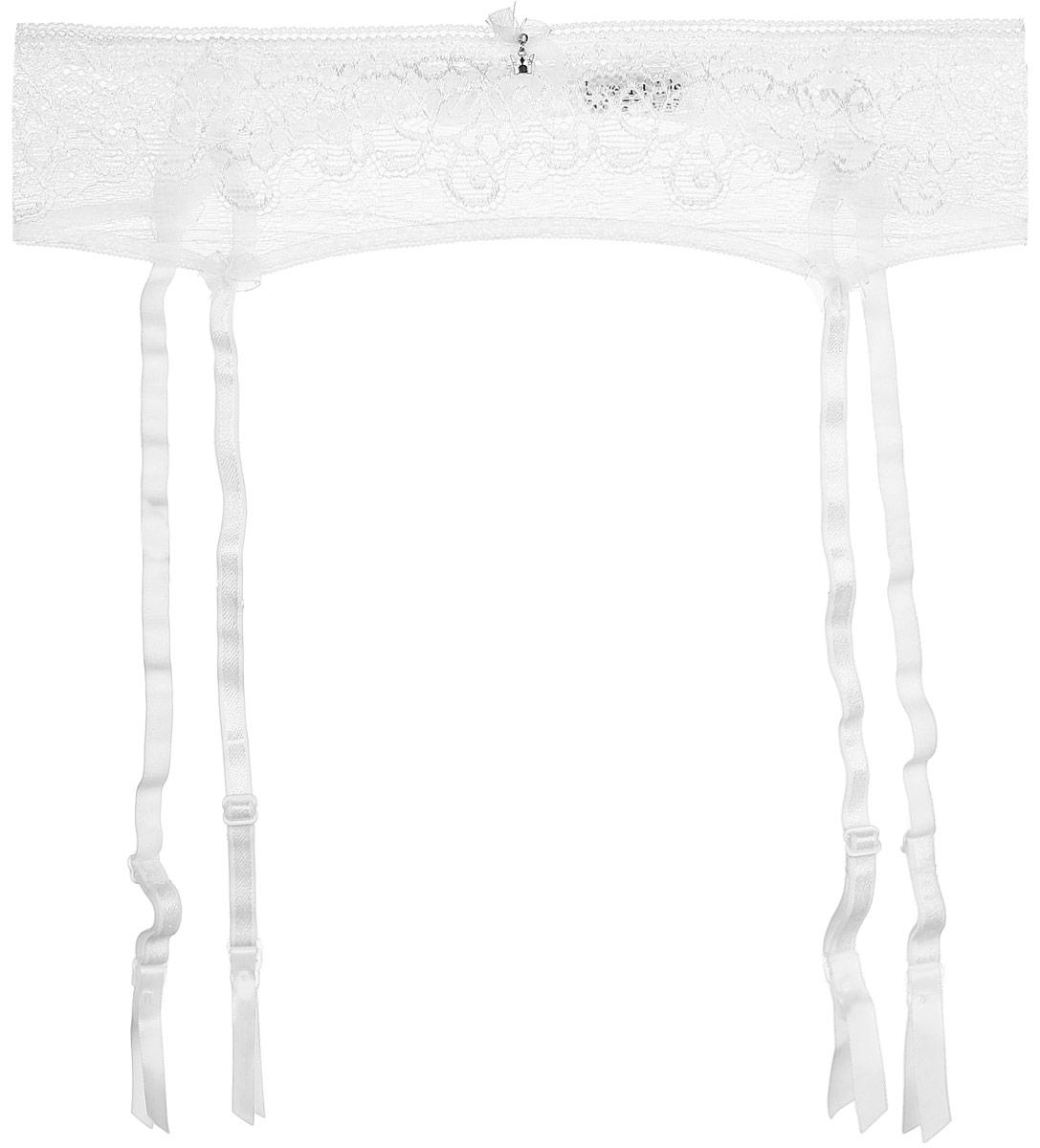 Пояс для чулок Luce Del Sole Raffinata, цвет: белый. 1881_Bianco. Размер S (44)1881_BiancoКружевной пояс для чулок из утонченного роскошного кружева. Женственный и романтичный пояс дополнит любой комплект нижнего белья.