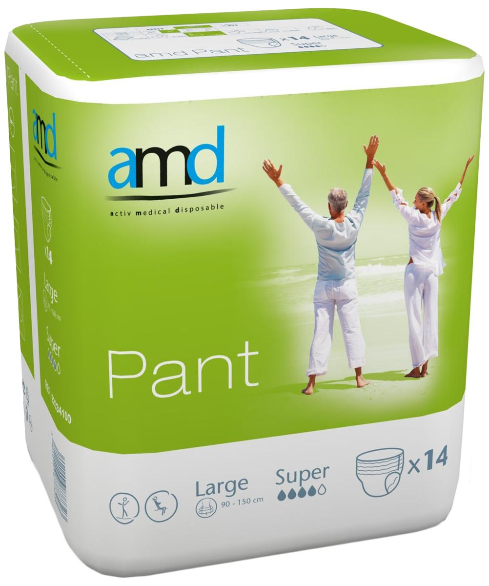 AMD Подгузники-трусики Pant L Super 14 шт