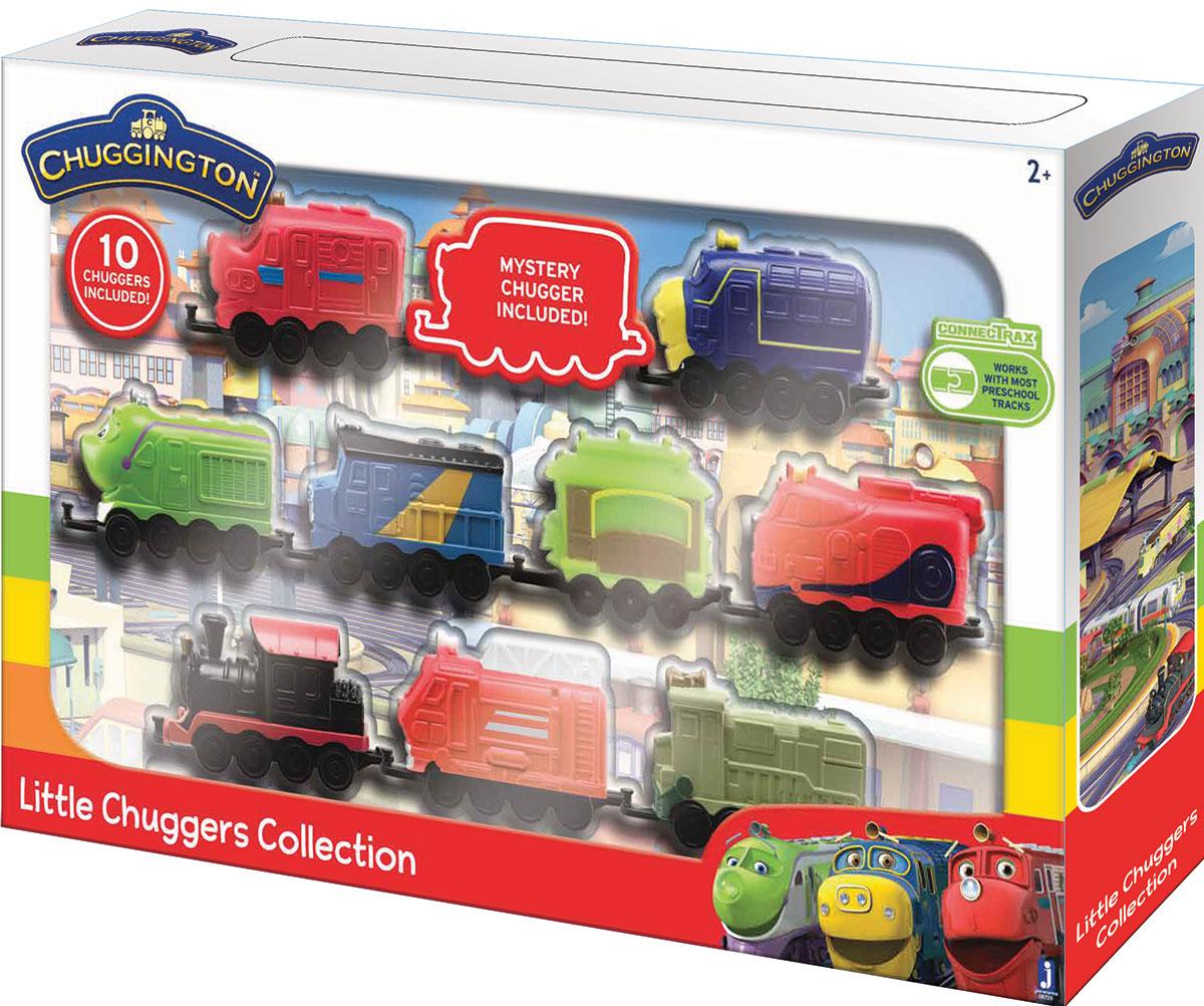 Chuggington Набор паровозиков 10 шт - Железные дороги