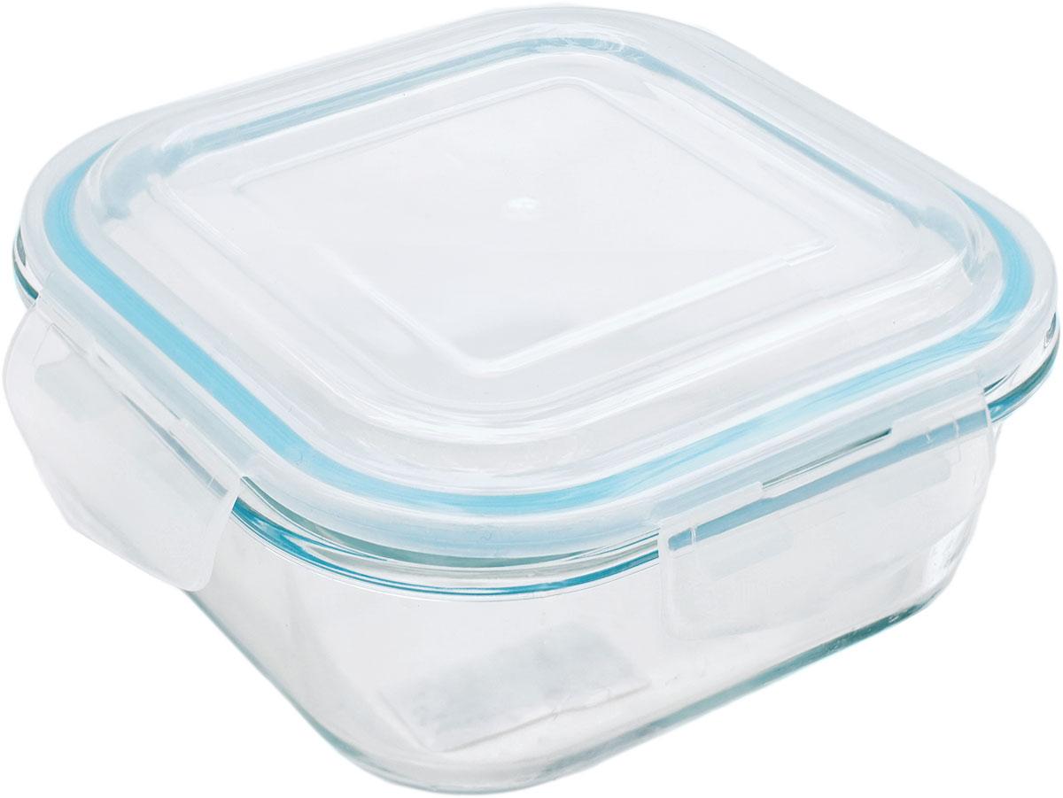 Контейнер пищевой Eley Elegant Сollection, квадратный, цвет: лазурный, 1,2 лELEC6010LКвадратный пищевой контейнер Eley выполнен из жаропрочного боросиликатного стекла. Крышка Air Lock изготовлена из полипропилена и оснащена силиконовым уплотнителем, для обеспечения полной герметичности внутри контейнера.Он подходит для использования в микроволновой печи и духовке (без крышки).Подходит для использования в холодильнике и морозильной камере.Подходит для использования в посудомоечной машине. Контейнер можно использовать как форму для запекания (до +400 С).
